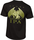 Stone Brewing Arrogant Bastard IPA Beer Tee Shirt