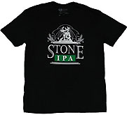 Stone Brewing Black IPA Beer Tee Shirt