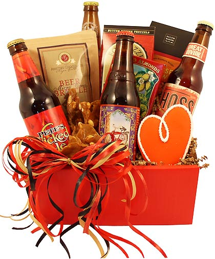 The Red Hot Valentine Beer Gift
