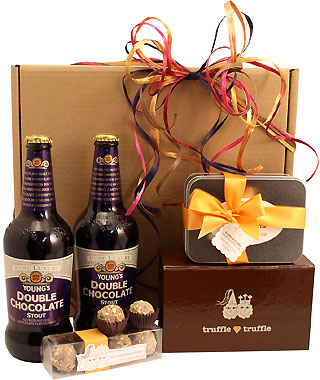 Truffles and Beer Deluxe Gift Box