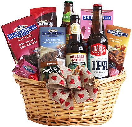 Valentine Beer Time Gift Box