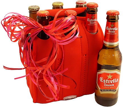valentines day beer six pack