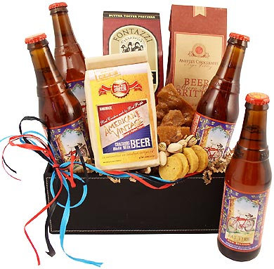Vintage Fat Tire Brew Gift Box