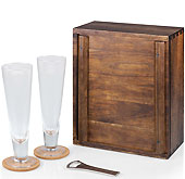 Wooden Pilsner Gift Set